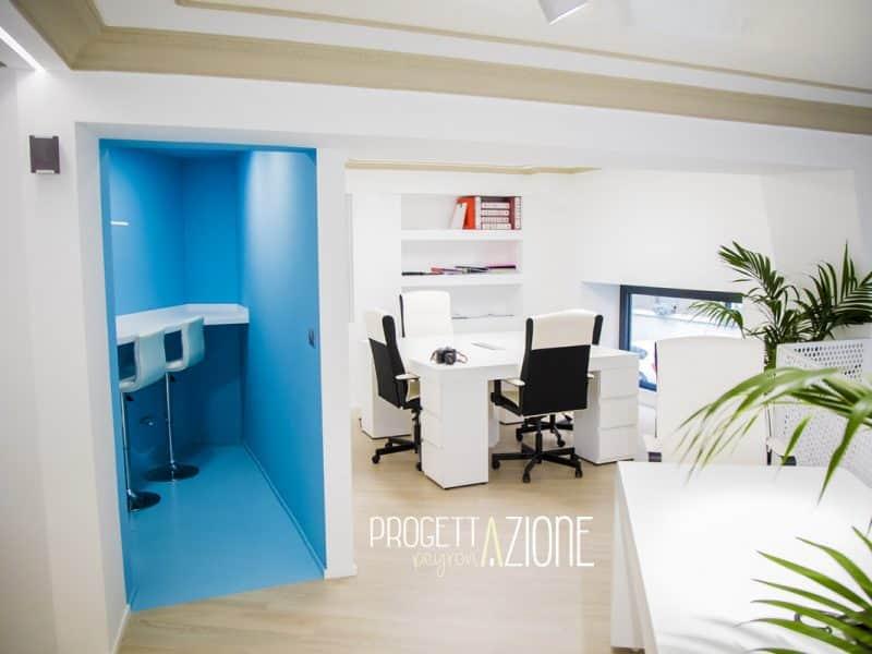Ristrutturazione sala break e postazioni ufficio Piazza Peyron
