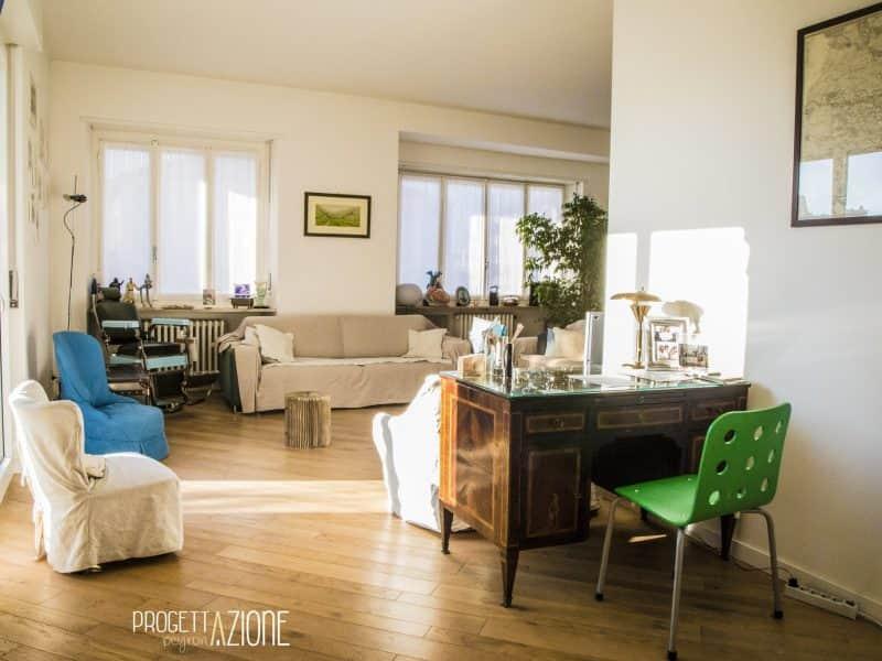 Ristrutturazione soggiorno appartamento Corso Galileo Ferraris, Torino