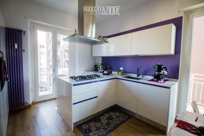 Ristrutturazione cucina appartamento Corso Peschiera, Torino