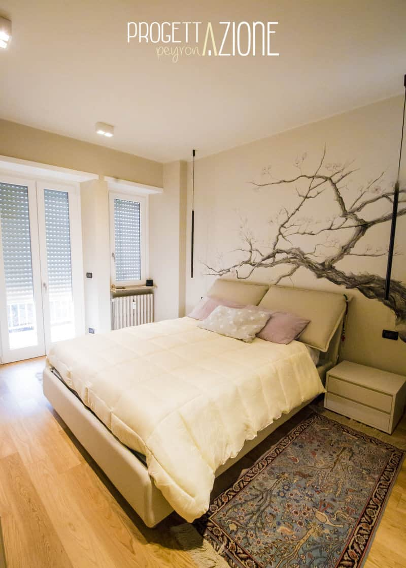 Ristrutturazione camera appartamento Corso Peschiera, Torino