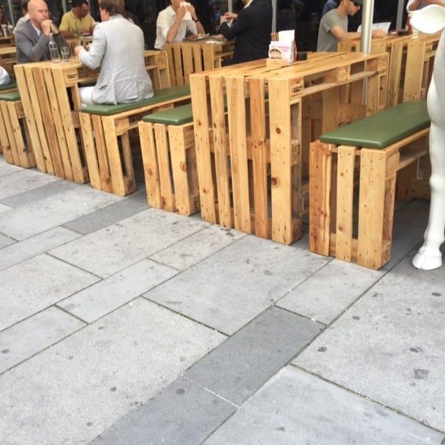 IL RIUSO DEL PALLET PER L'ARREDAMENTO
